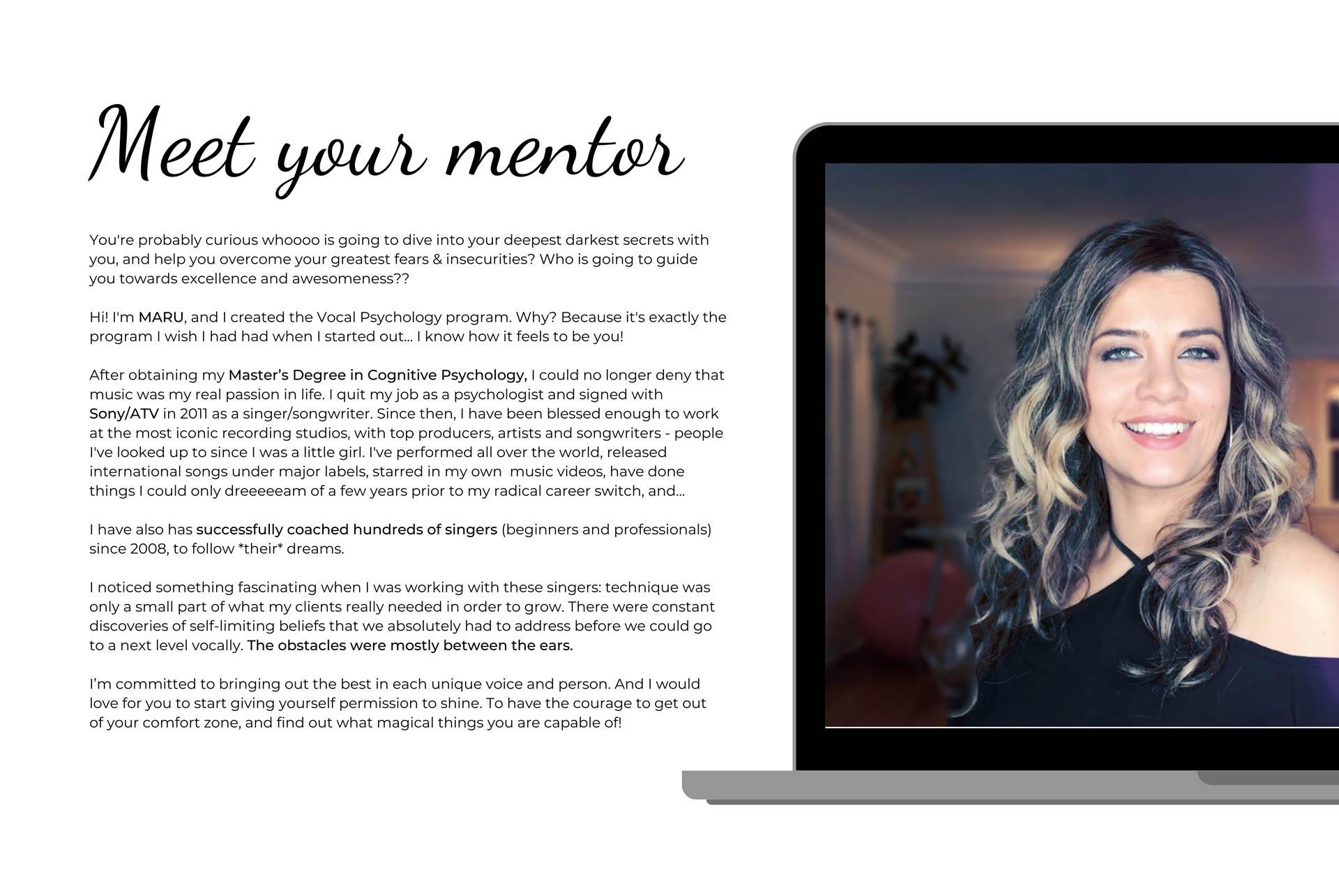 Online Singing/Vocal Mentor